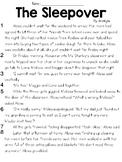 The Sleepover (Lit) Text & Question Set - FSA/PARCC-Style Assessment