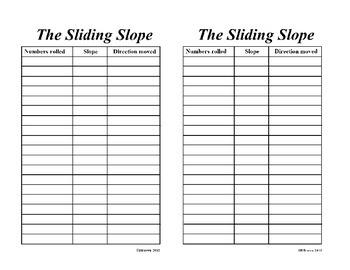 The Sliding Slope