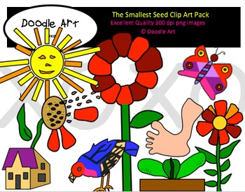 The Smallest Seed Clipart Pack