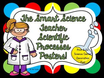 The Smart Science Teacher Scientific Processes Posters!
