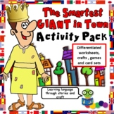 Smartest Giant in Town Activity Pack - Sheets, Crafts, Gam