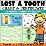 Lost a Tooth Chart