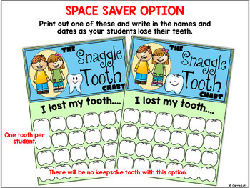 Lost a Tooth  | Missing Tooth Chart