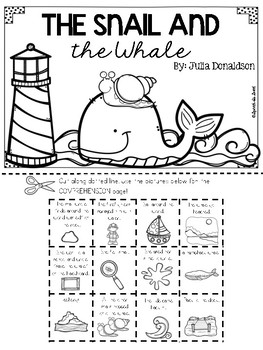 The Snail and The Whale Literature Lap Book