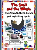 The Snail and the Whale Flashcards, Matching cards and Min