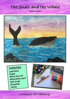 The Snail and the Whale Inspired Artwork
