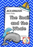 The Snail and the Whale Julia Donaldson Book Study