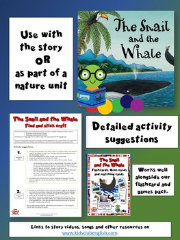 The Snail and the Whale - Natural landscapes Matching Craft
