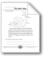 The Snail's Way (strong verbs)
