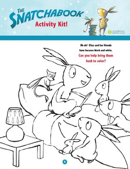 The Snatchabook Activity Kit & Common Core Educator's Guide