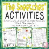 The Sneetches Activities Dr. Seuss Crossword Puzzle Word Searches and Scramble