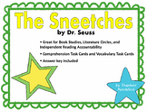 The Sneetches by Dr. Seuss Comprehension and Vocabulary Task Cards