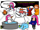 The Snowman Clipart Pack