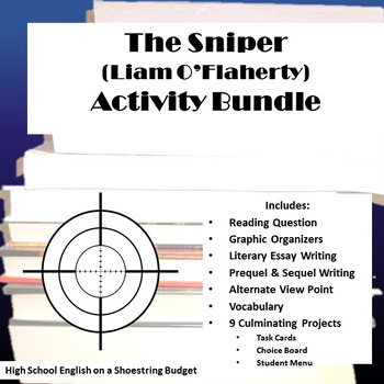 The Sniper Activity Bundle (Liam O'Flaherty) - PDF