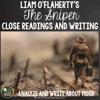The Sniper Close Reading and Writing Prompts Mood Analysis