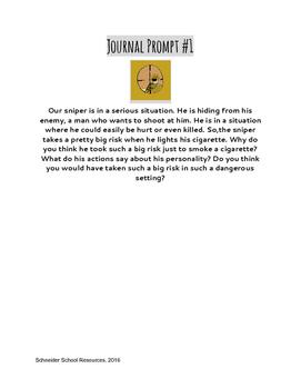 The Sniper Journal Prompt Bundle