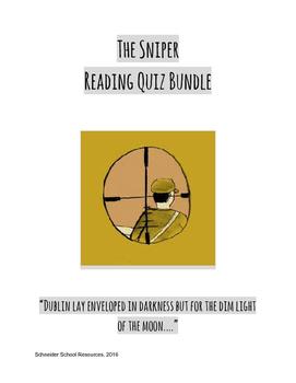 The Sniper Reading Quiz Bundle
