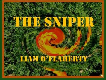 The Sniper by Liam O Flaherty Teacher Supplemental Resources Fun Engaging