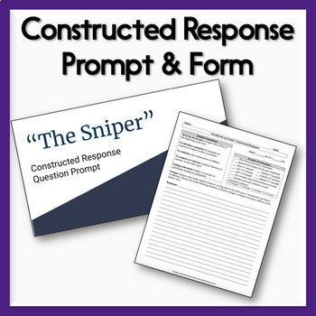 the sniper irony The sniper by liam o'flaherty: focus on theme, irony, plot this is a lesson on the short story the sniper by liam o'flaherty included: reading guide with focus on comprehension and theme reading guide with focus on plot and irony constructed response prompt and form with grading rubric ccss alignment usage guide digital usage guide for.