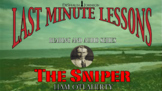 The Sniper by Liam O' Flaherty: Last Minute Lessons Read &