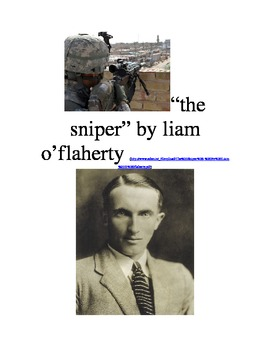 """""""The Sniper"""" by Liam O'Flaherty Creative Writing Assignment"""