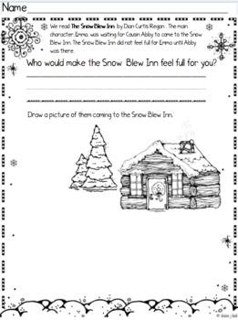 The Snow Blew Inn Book Companion