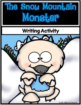 The Snow Mountain Monster ~ Creative Writing Activity