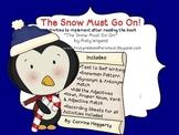 The Snow Must Go On! Craftivity