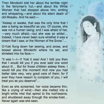 The Snow Witch - A Japanese Tale of Yuki Onna