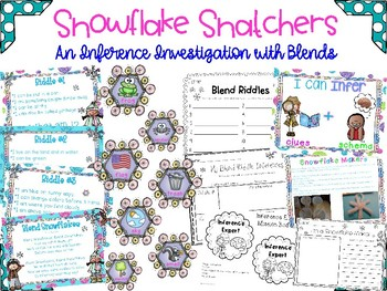 The Snowflake Snatchers: An Adventure with Blends and Inferring