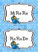 The Snowflakes Meet Their Match! A Solfege Game: Mi Re Do