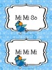 The Snowflakes Meet Their Match! Solfege Matching Game: So