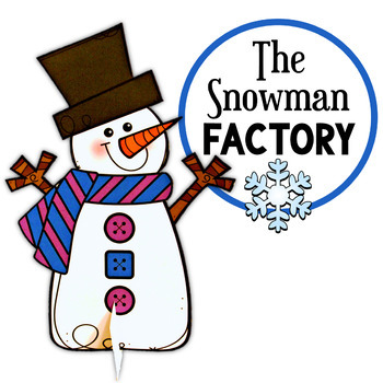 The Snowman Factory - All About Snow, Craft and Activities