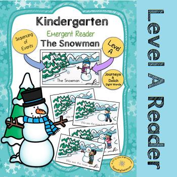 The Snowman - Kindergarten Level A Guided Reader