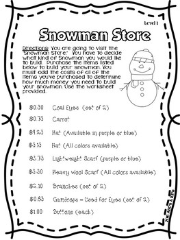 The Snowman Store