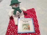 The Snowman Storybook Story Bag