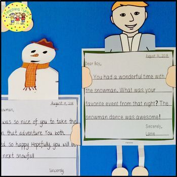 The Snowman Worksheets Activities Games Printables and More