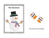 The Snowman emergent reader