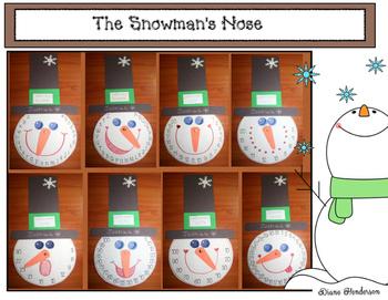 The Snowman's Nose: An Uncommon Common Core Snowman Craft