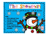 The Snowman with closes, shared reading, literature, math and SACC
