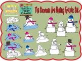 The Snowmen Are Melting Graphics Set