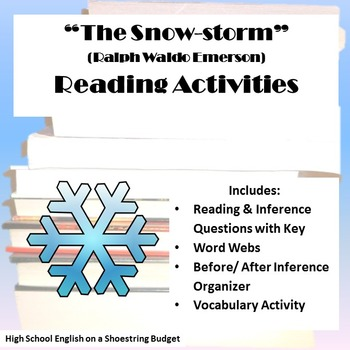 The Snowstorm Reading Activities (Ralph Waldo Emerson)