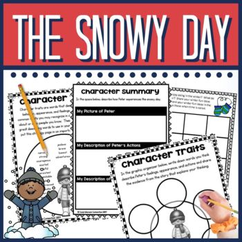 The Snowy Day Comprehension and Writing Activities