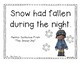 The Snowy Day: A Primary Mentor Sentence Unit