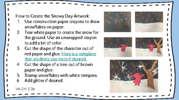 The Snowy Day: An Arts-Integrated Lesson