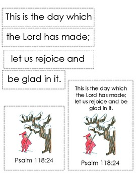The Snowy Day Bible Verse Printable (Version 2 - Peter)