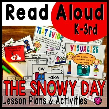 The Snowy Day Read Aloud Activities with Lesson Plans