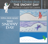 The Snowy Day Elementary Art Lesson - Both Traditional and