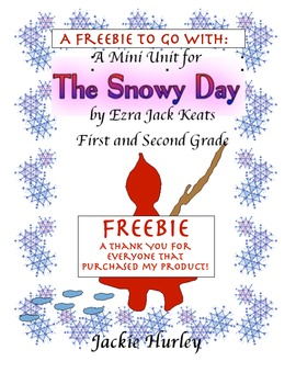 The Snowy Day Freebie - Winter Free - Snow Free