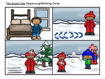 The Snowy Day:  Literacy, Language and Listening Book Companion
